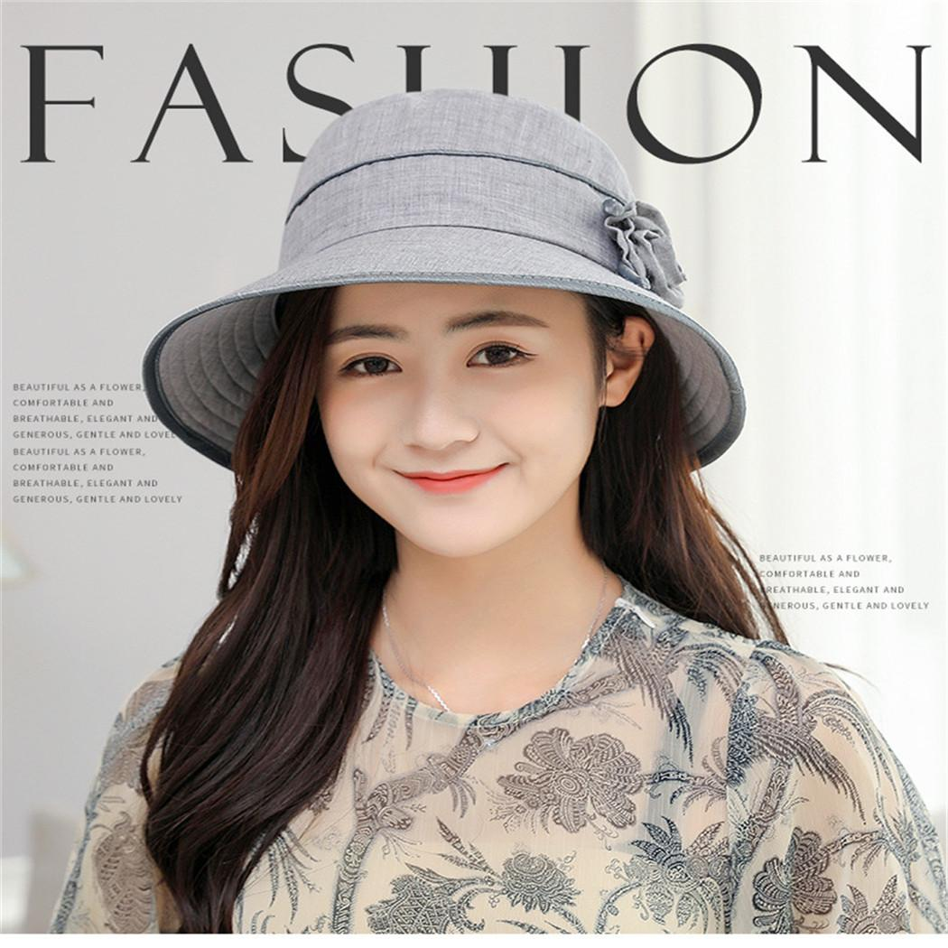 9c18c99e0b5934 21 Styles Elegant Women Bucket Hats Print Outdoor Sun Protection Summer  Autumn Flat Cap Harajuku Fedoras Hat Chapeu Feminino Canada 2019 From  Copy04, ...