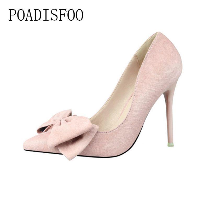 Poadisfoo Avec Femmes Des Daim Chaussures Escarpins Mode À Hauts Pointues Douce Fine Talons Blue En YbgyIf7v6m