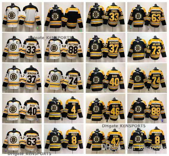 2019 2019 Winter Classic Boston Bruins Patrice Bergeron Orr Chara Brad  Marchand David Pastrnak DeBrusk Rask Krejci Krug McAvoy Hockey Jerseys From  Kensports ... eb8f6449a