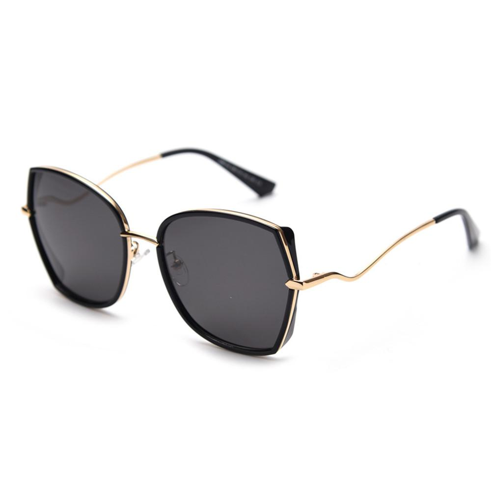 c61f03e47e 2019 New Fashion Women Men Oversized Square Sunglasses Luxury Brand ...