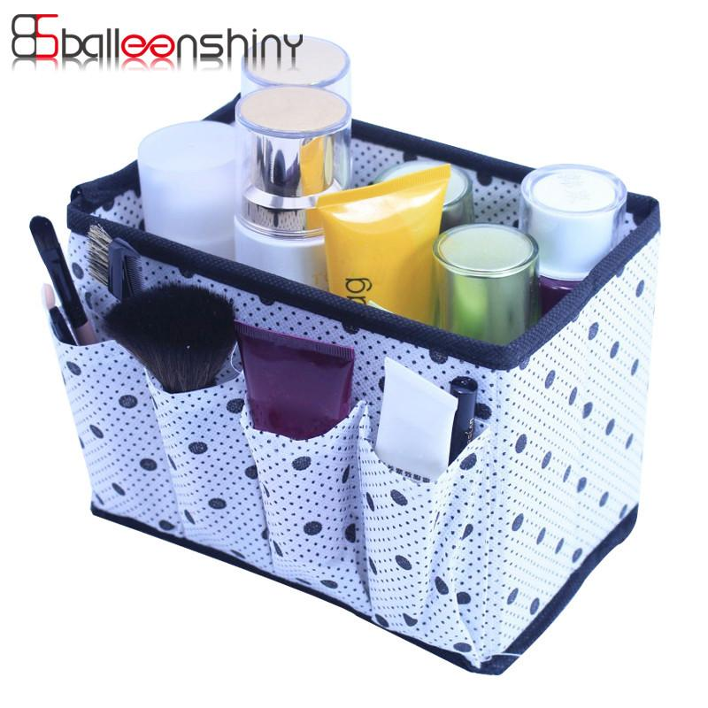 2019 balleenshiny folding cosmetic storage box container large rh dhgate com