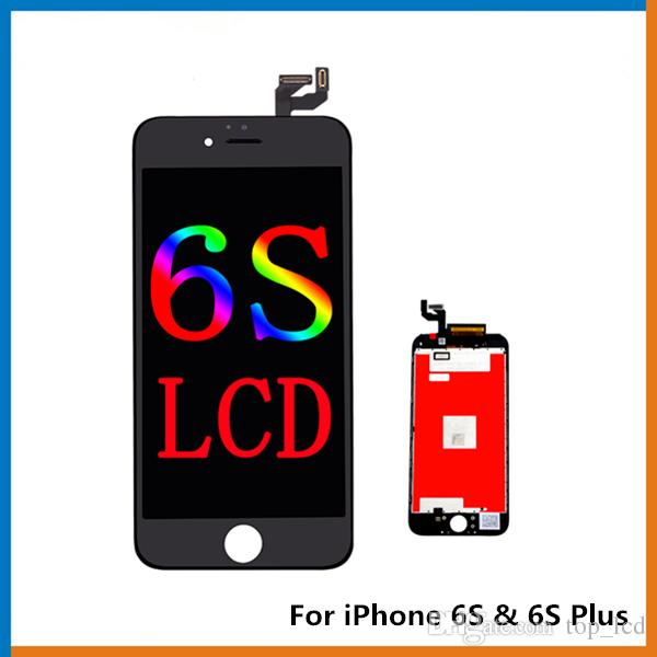 huge discount f53b0 ac0ba Grade A No Dead Pixel For iPhone 6S LCD Glass Touch Panel Digitizer  Assembly For iPhone 6S Plus Screen, The Best Copy LCD!!!