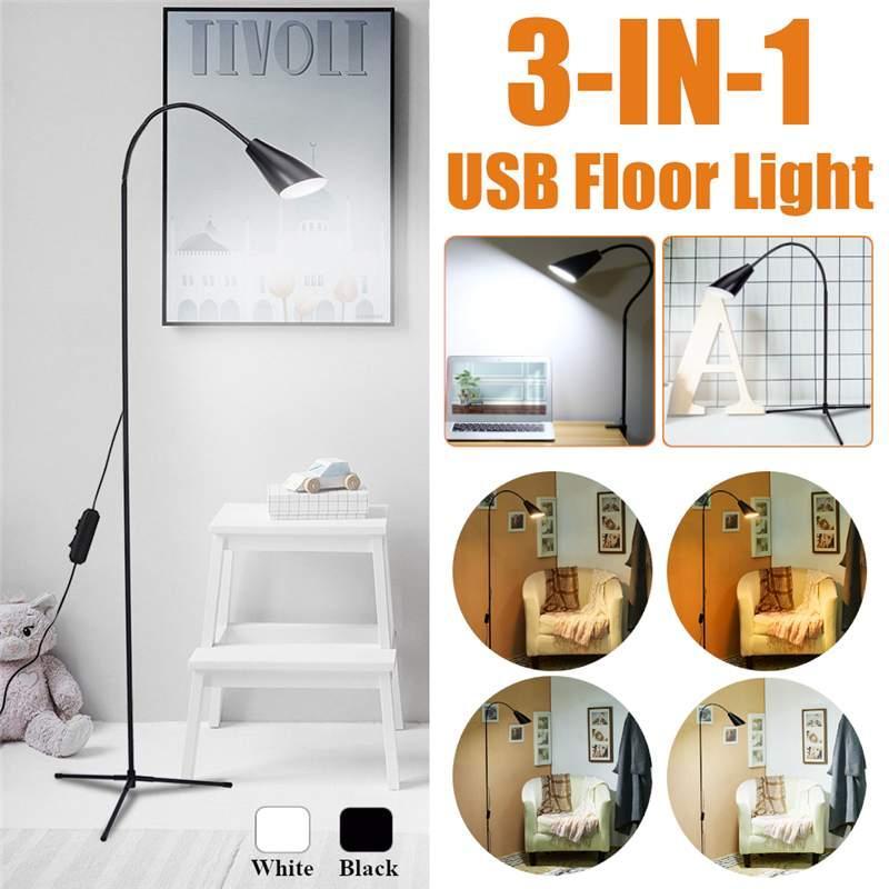 modern 7w white warm white led floor lamp dimmer usb desk reading rh dhgate com