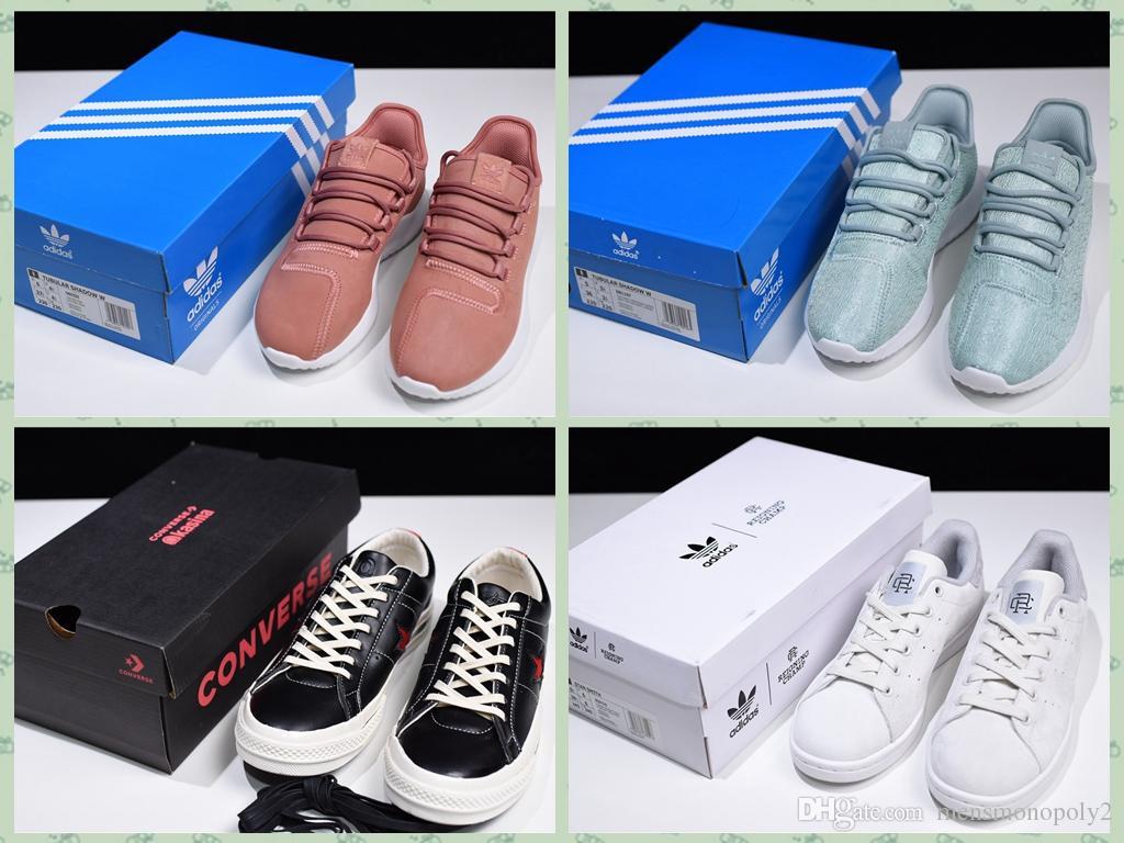 uk availability f3b94 da9ef Acquista Tubular Shadow W Kasina X Convrse Reignng Champ X AD Smth Stan  BQ9220 Sandali Casual Sneakers Sportive Con Box Size 36 46 A  67.92 Dal ...