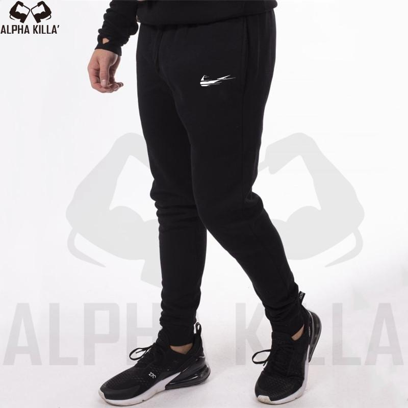 Men Sports & Outdoor Clothing Mens Sports Pants Long Baggy Pencil Stretch Fitness Pants Pants Casual Gym Unique Pants Spring Autumn Drawstring Tracksuit Pants