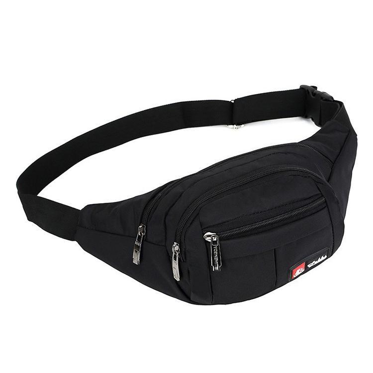 c4edd3f45adc Good Quality Fashion Black Bum Bag Belt Women 2019 Handy Men Fanny Pack  Nylon Waist Bag Ladies For To Belt Unisex Pouch Hip Bag Banana Waterproof  Waist Pack ...