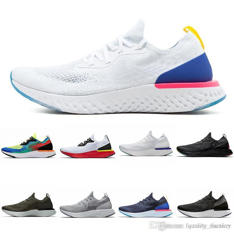 the latest e657a 972c7 Acheter Epic React Chaussures De Course Cushion Instant Pour Hommes Femmes  Designer Blanc Noir Rouge Baskets Sport Taille 36 45 De  61.77 Du  Factory sneaker ...