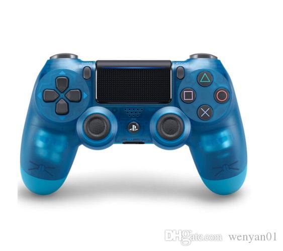Controlador inalámbrico de juegos Bluetooth para PS4 Controlador de juegos Gamepad Joystick para videojuegos de Android con caja de venta al por menor