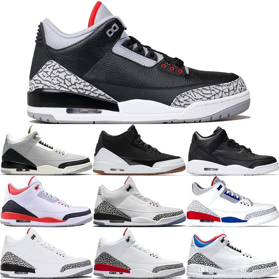 6f8ae820166f 2019 III Mens Basketball Shoes Mocha Charity Game Pure White Infrared Black  Cement Fire Red Free Throw Line III Sports Designer Sneakers 40 47 From ...