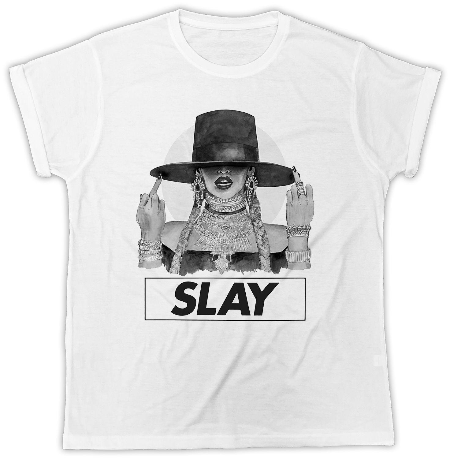 4b59da6018e1 I SLAY TSHIRT BEYONCE HAT IDEAL GIFT POSTER BIRTHDAY PRESENT FASHION  TSHIRTFunny Unisex Casual Top Crazy T Shirts For Men Cheap T Shirts For  Sale Online ...