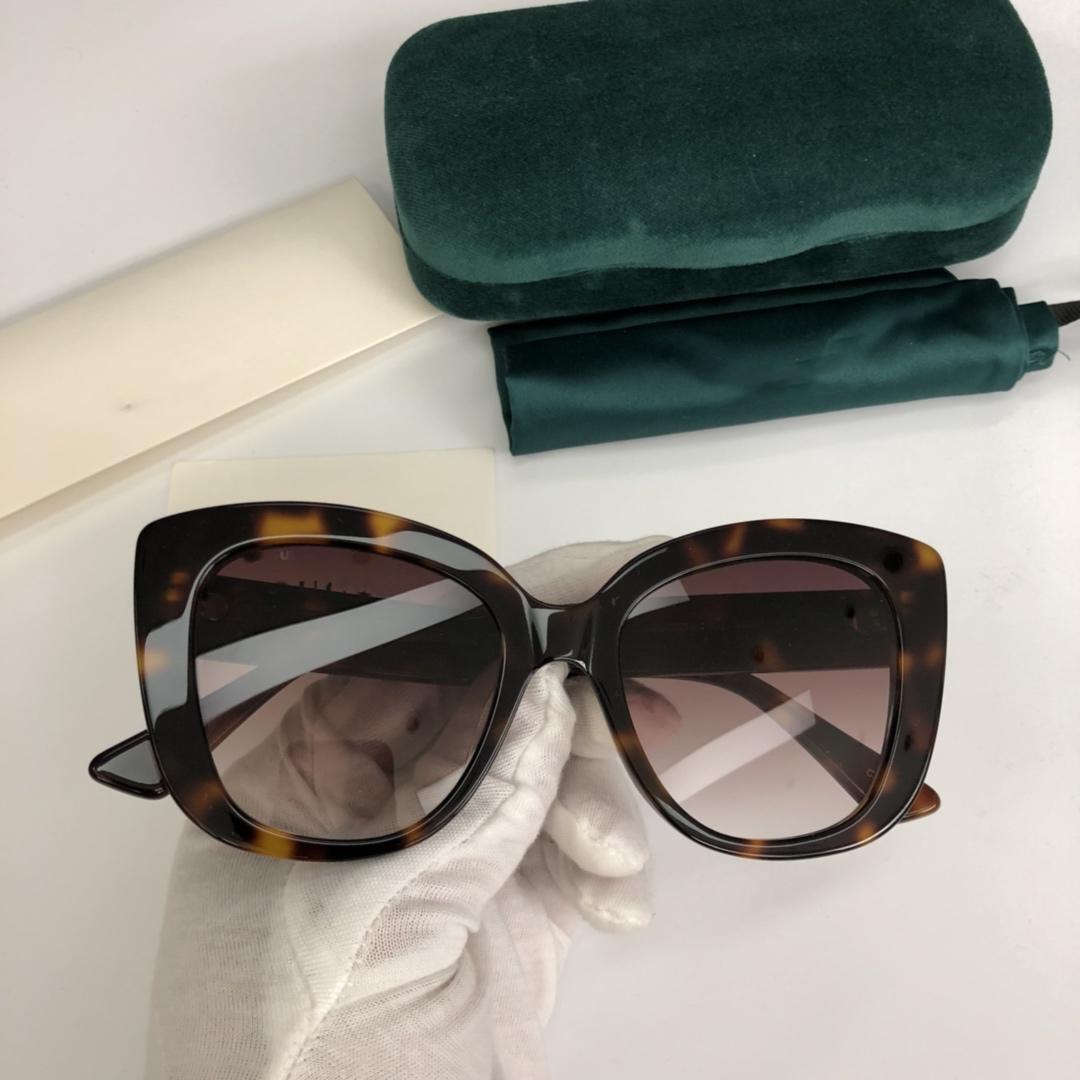bbaf883df0 New Fashion Designer Sunglasses 0327 Charming Cat Eye Frame Popular ...