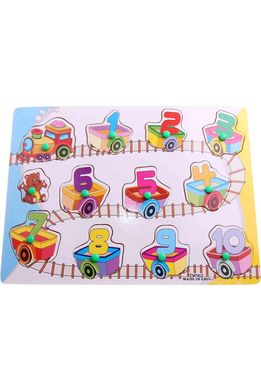 Akademiloji Wooden Educational Puzzle