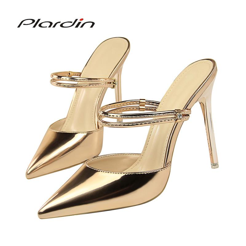 22e4aa8b7654 Dress Plardin Women Sandals Concise Fashion Ankle Strap Shoes Woman Pointed  Toe Thin Heels Women S Buckle Slingbacks Pumps High Heels Bass Shoes  Skechers ...