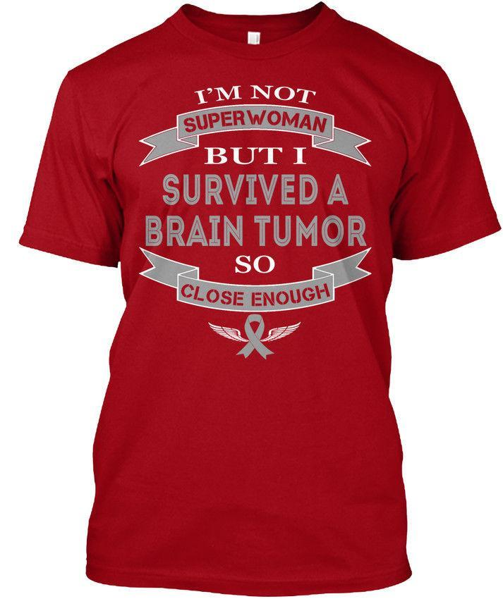 3cc0fdf9 Cozy I Survived A Brain Tumor Wholesale Cool Casual Sleeves Cotton T Shirt  Fashion New T Shirts Unisex Funny Tagless Tee Tagless Tee T Shirt Great Tee  Shirt ...