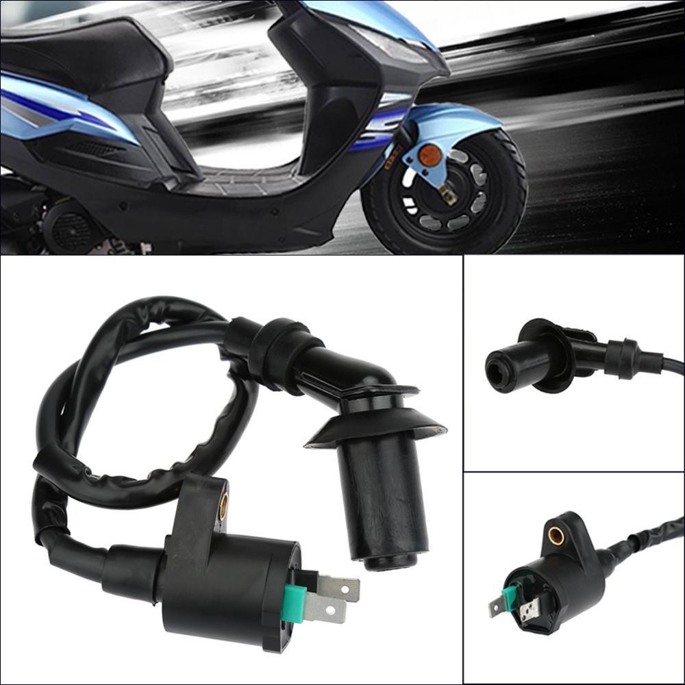 Freeshipping Heißer Verkauf Zündspule GY6 50-150cc mit Kabel für ATVs Roller Go Karts High Performance Motorrad Modifikation Teile