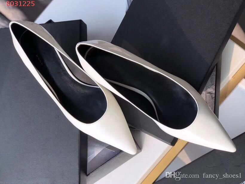 8ea3cab695 woman Fine heel shoes Spring fairy bow-knot Rubber outsole Black blush  Walking comfortably Pointed Formal wear Leisure