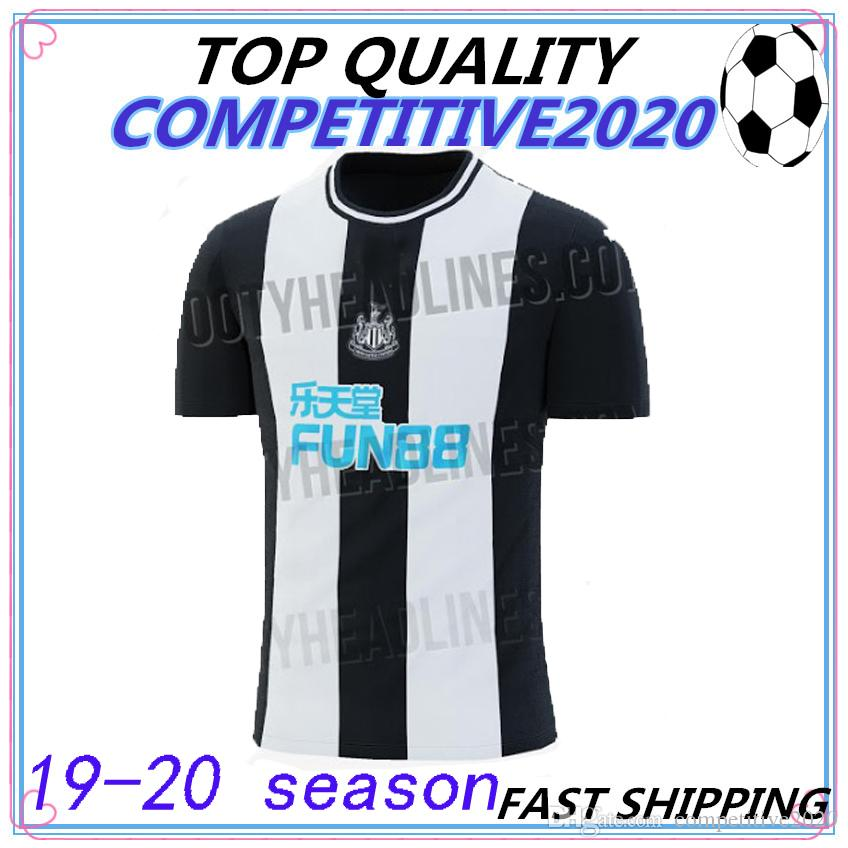 a9d6e4c9b7c55 2019 19 20 Thailand Quality Newcastle United Soccer Jersey 2019 2020 RONDON  Football Kit Shirt RITCHIE SHELVEY Newcastle Kits Camiseta From  Competitive2020