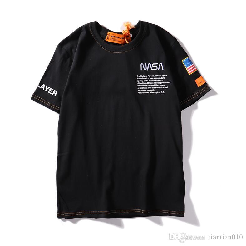 19ss Summer Brand Designer T Shirts Mens Tees T Shirt Brand Letter Pattern Mens Clothing Short Sleeve Tshirt Casual T-shirt