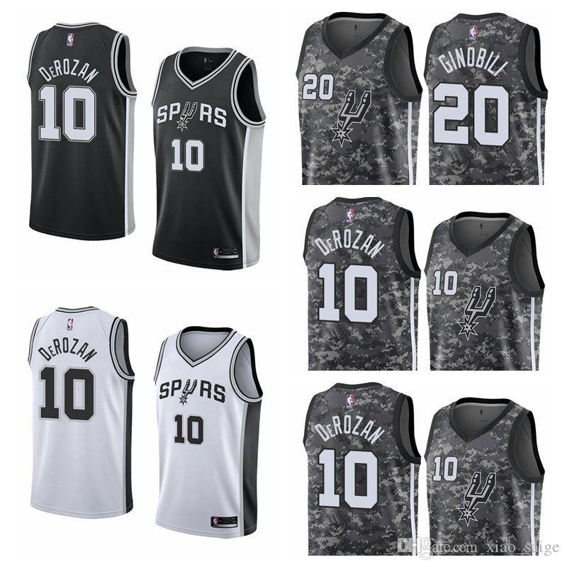 419fcd059 2019 Men DeMar DeRozan San LaMarcus Aldridge Antonio Spurs Fanatics ...