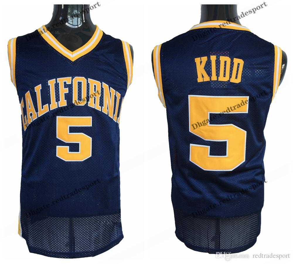 168e96708fb Mens California Golden Bears Jason Kidd College Basketball Jerseys ...