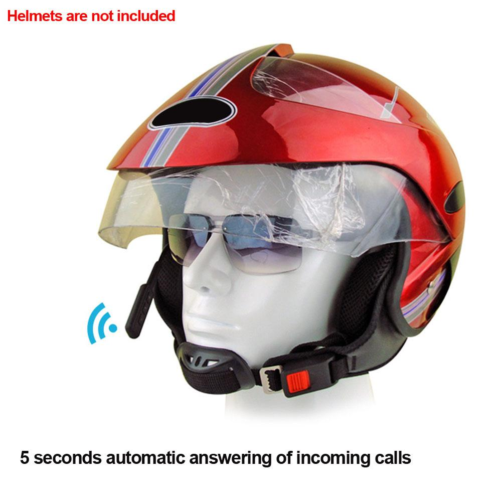 3ffb8d0da44 Motorcycle Portable Smart Wireless Bluetooth Reminder Earphones Music Helmet  Headset With Microphone Universal HIFI Hands Free Moped Helmets Cheap Moped  ...