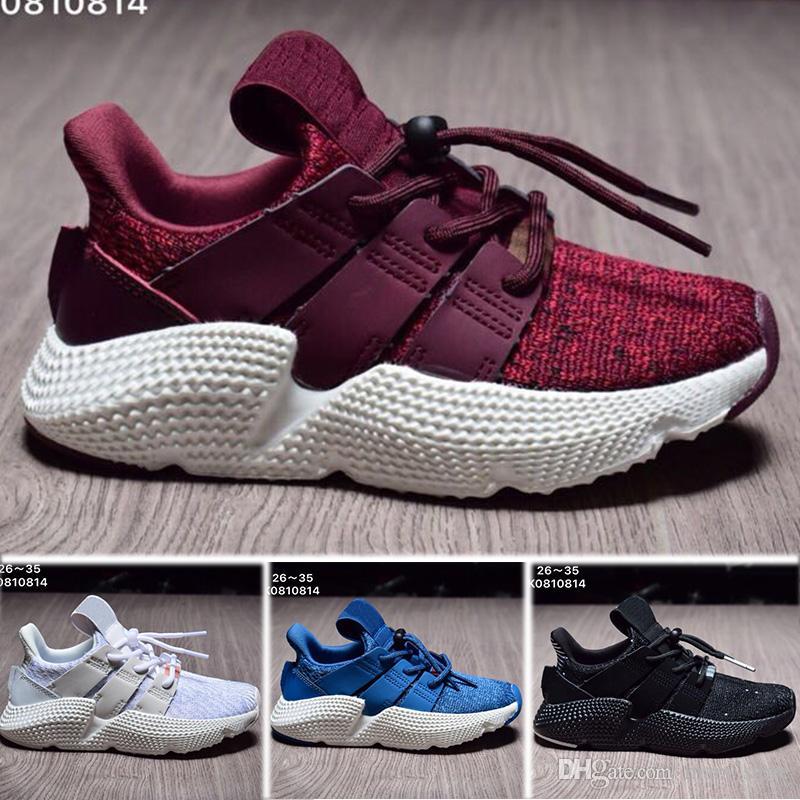 sneakers for cheap eede9 58c97 Acquista Adidas Prophere Undefeated Alta Qualità Uomo Donna Bambino  Originals Prophere Climacool EQT 4s Quattro Generazioni Clunky Scarpe  Sportive Scarpe Da ...