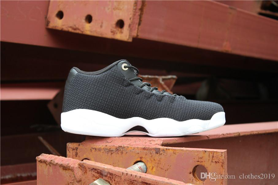 07c0bf44cc6a Cheap Men 13 OG Basketball Shoes Horizon Low Black White 13S Top ...
