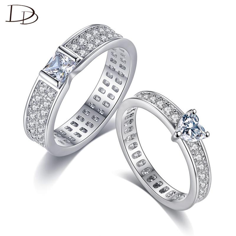 Dodo Couple Wedding Exchange Rings Steady Male Square Amp Sweet