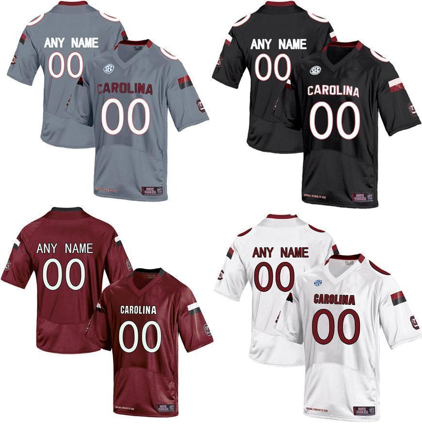 2019 Cheap Custom SOUTH CAROLINA GAMECOCKS College Jersey Mens Women Youth  Kids Personalized Any Number Of Any Name Stitched Red Football Jerseys From  ... deb9fb94a