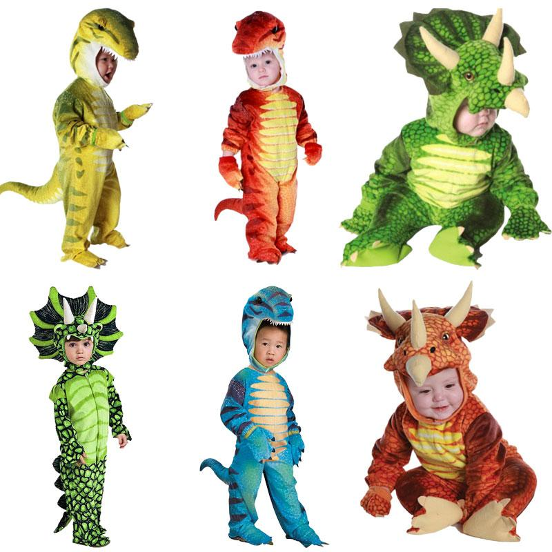 Infant Toddler Triceratops Costume Child Dinosaur T Rex Kids Cosplay Baby  Jumpsuit Halloween Christmas Purim Carnival Costumes Teenage Group  Halloween ...