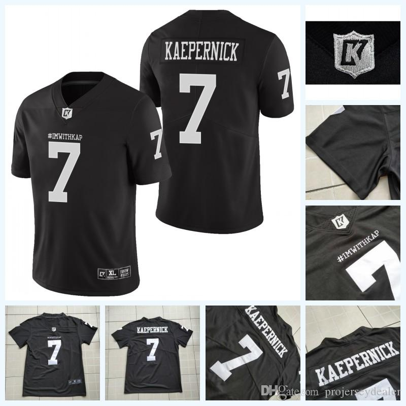 official photos 77a2d a3135 Imwithkap Movie Jersey 7 Colin Kaepernick I m With Wap American Football  Jersey Double Stitched Name and Number Fast Shipping