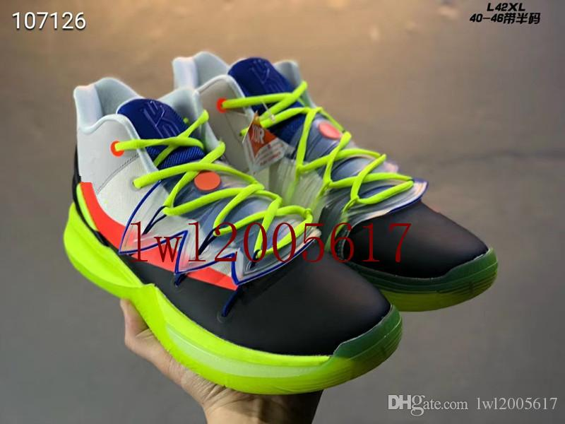 0dd7902b9833 2019 Hot Sale ROKIT X Kyrie 5 Sports Basketball Shoes For Top Quality Irving  5 Sneakers Men S Trainers Sports Shoes EUR 40 46 Mens Boat Shoes Boat Shoes  For ...