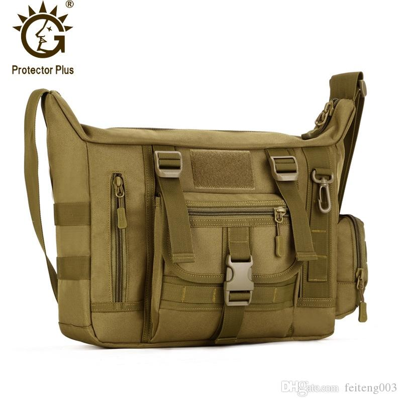 Sports & Entertainment Helpful Waterproof Nylon Tactical Mens Messenger Bag Military Backpack Rucksack Cross Body Shoulder Handbag Bag Outdoor Travel Bags