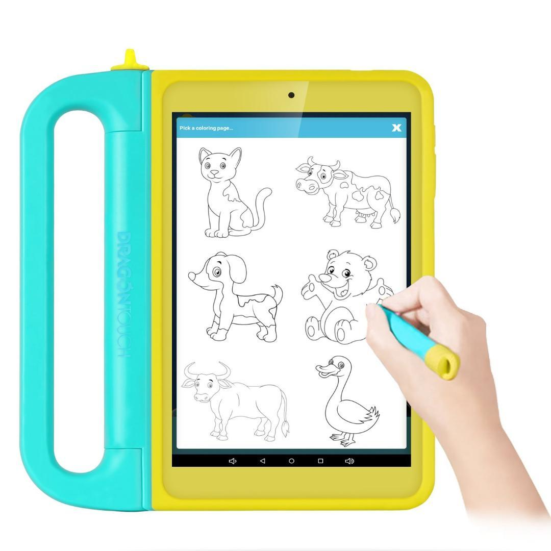 dragontouch k8 8inch kids tablet kidoz pre