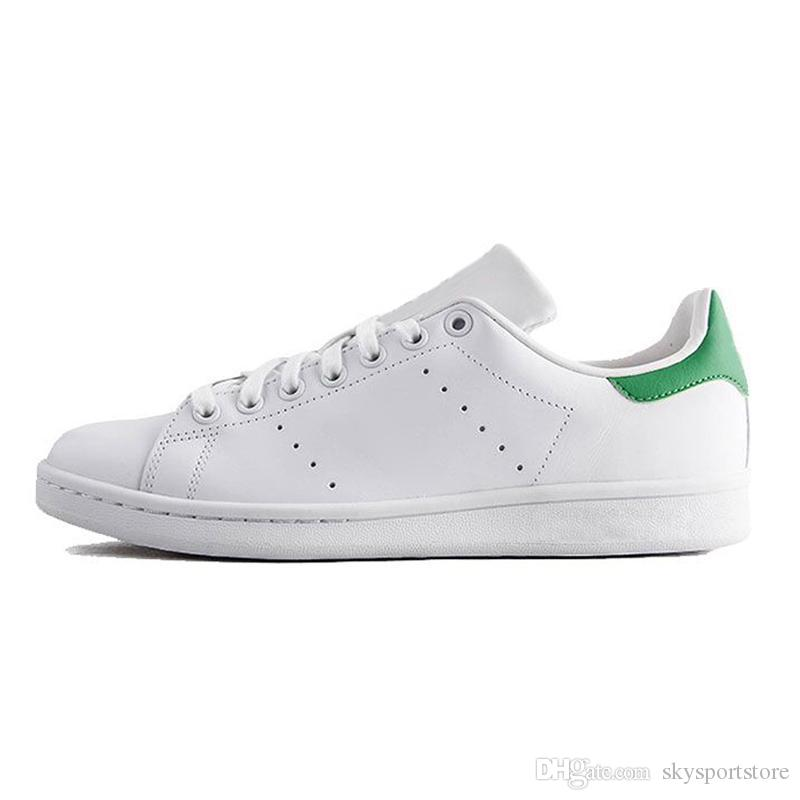 info for e159a 712df Hot Sale Stan Smith Chaussures Fashion Luxury Designer Trainers White Black  Dress De Luxe Sneakers Men Women Casual Shoe EUR36-45