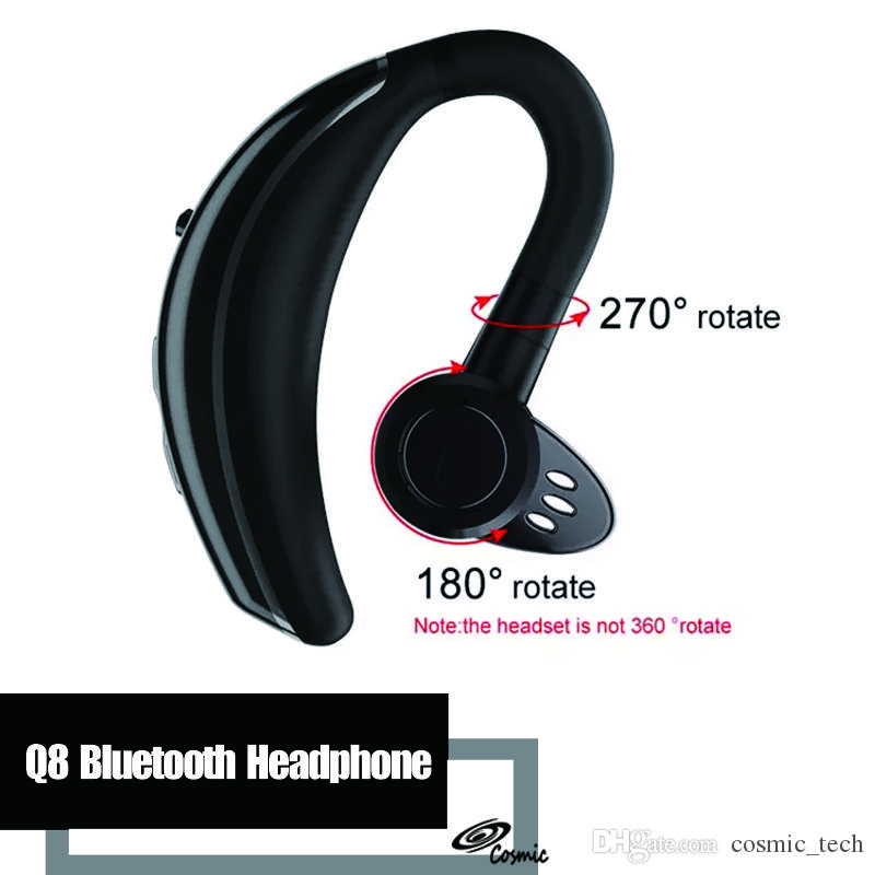 6b32392796468 Q8 Wireless Bluetooth Headphone Headset Handsfree Noise Cancelling With Mic  Stereo Sport Business Earphone For IPhone Samsung Smartphone Mobile Phone  ...