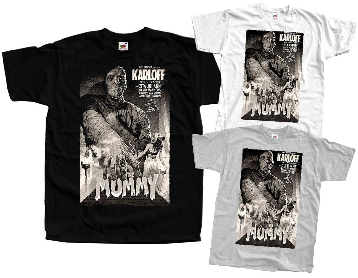 653decdae The Mummy V4, K.Freund, Poster 1932, T Shirt WHITE,ZINK,BLACK ALL SIZES S  5XL Funny Unisex Casual One T Shirt A Day One Day T Shirt From Thebestore,  ...
