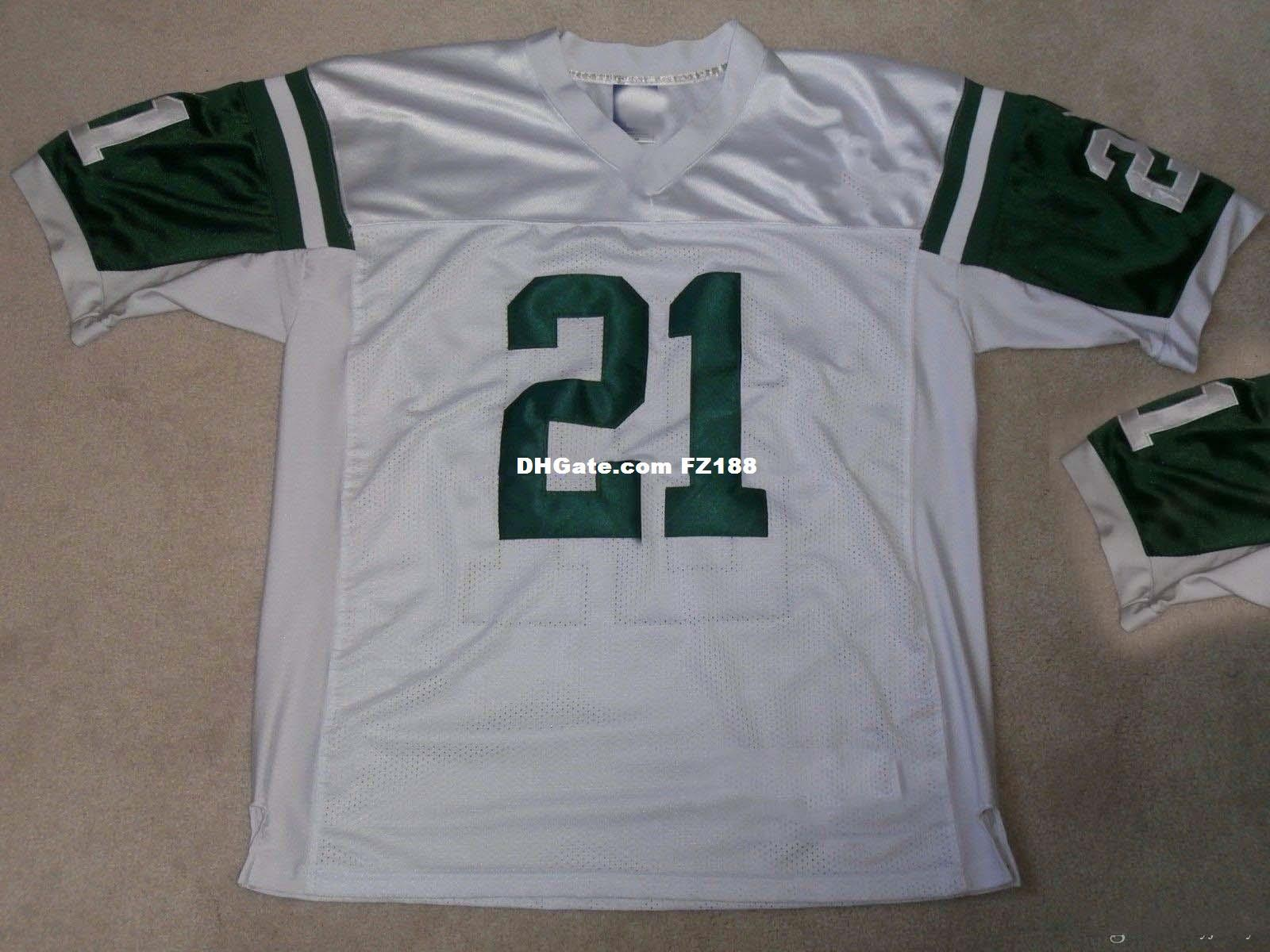 56ed712711d 2019 Cheap Custom NEW YORK #21 TOMLINSON FOOTBALL JERSEY Stitched White Add  Any Name Any Number Men Women Youth XS 5XL From Diyjerseys, $29.46 |  DHgate.Com
