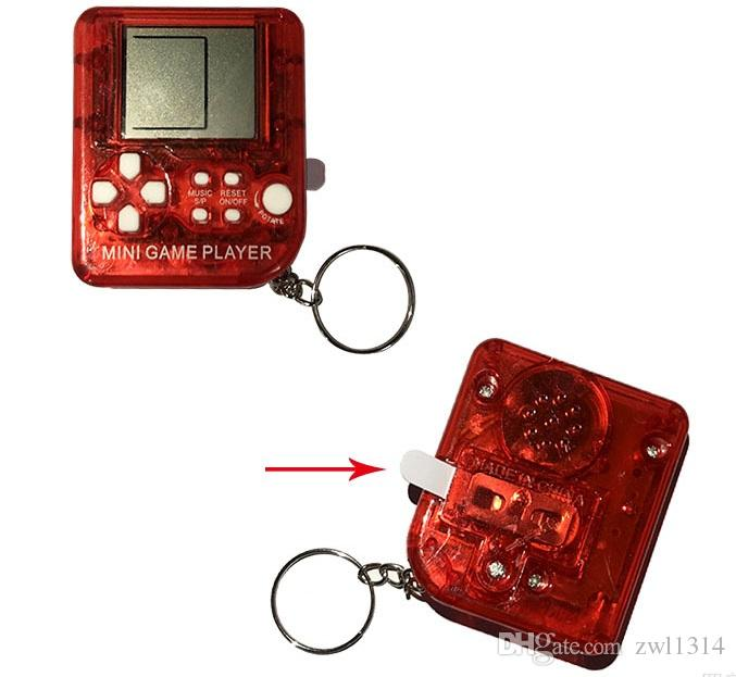 26 in 1 games Ultra-small mini Children handheld game console Portable LCD Players Children Toy Educational Electronic Toys classic dhl