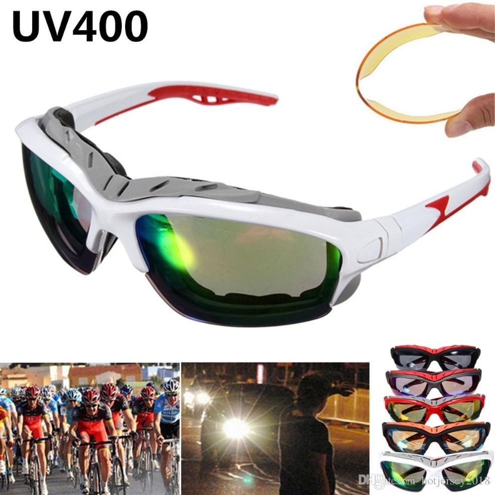 adb28d4edd8 NEW Unisex Sport Sun Glasses Cycling Bicycle Bike Outdoor Eyewear ...