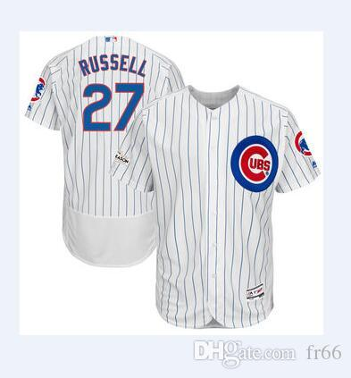 cb292d628ae ... best price 2019 2019 world series champion chicago cubs 27 addison  russell baseball jerseys custom sports