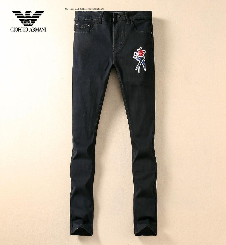 01cc6237122 2019 High Street Man Jeans Pin Fashion Retro Mens Wear Out Slim Small  Straight Trousers From Jean2, $29.95 | DHgate.Com