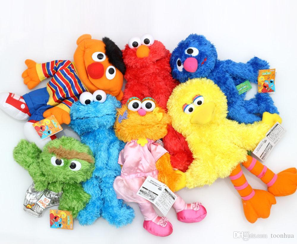 1be240dfe7ce4d 2019 New 26CM 34CM Sesame Street Hand Puppet Ballerina Zoe Big Bird Cookie  Monster Elmo Emie Beanie Grover Oscar Plush Doll From Toonhua, $10.44 |  DHgate.