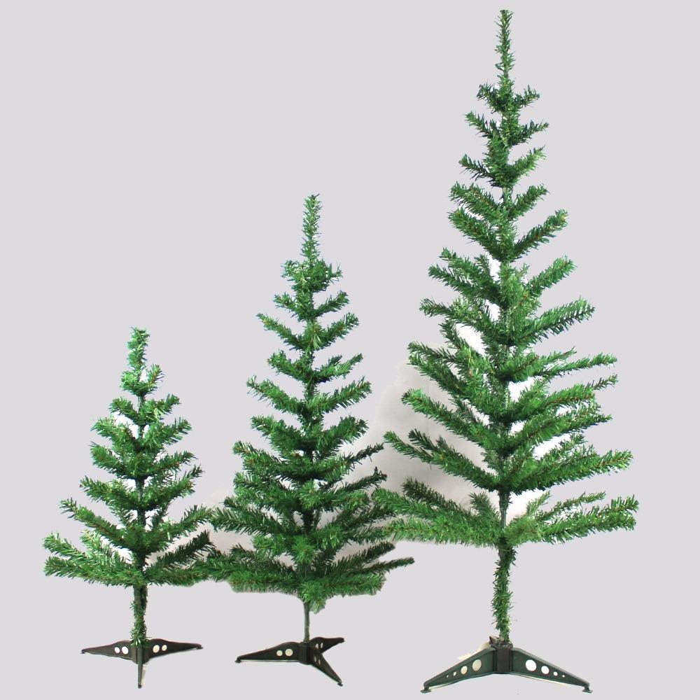 Pvc Christmas Trees.Christmas Tree Pvc 30cm 90cm 150cm Green Pinaster Pine Christmas Decoration For Home Bar Party Showcase Free Shipping