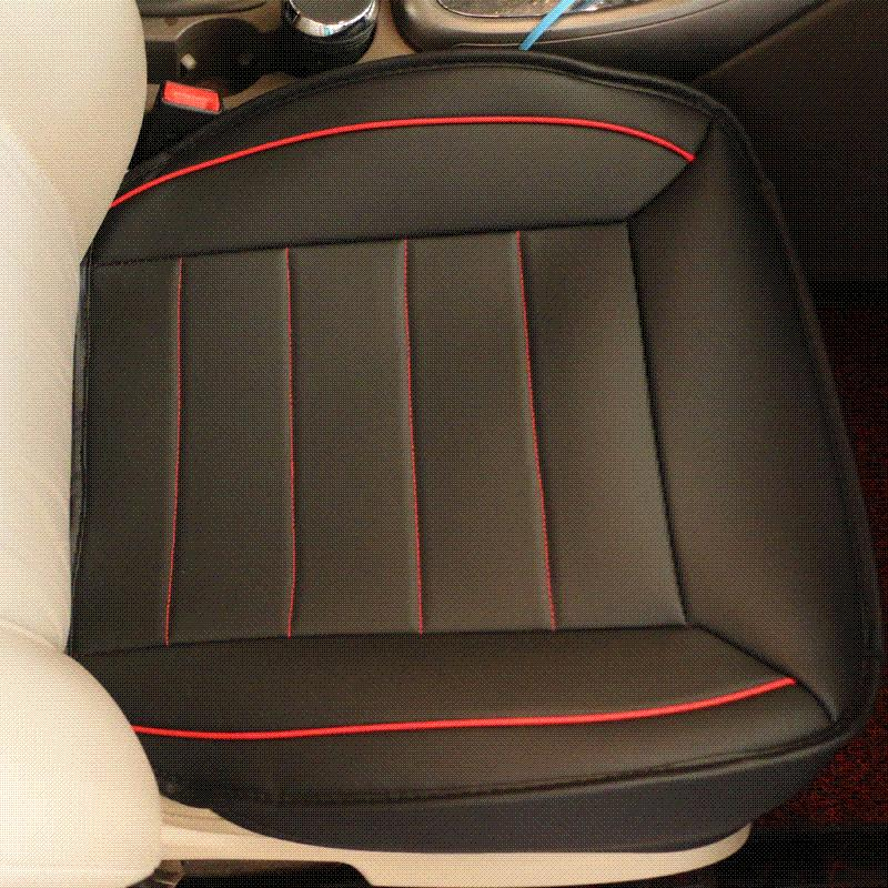 universal breathable leather car seat cover anti skid auto seat