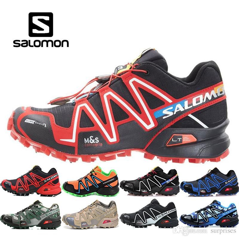 237035f311e8 Luxury Brand Salomon X Ultra 3d Mens Outdoor Hiking Shoes Women Sports  Shoes Black Red White Colorways Sneakers Breathable Massage Trial Running  Shoes For ...