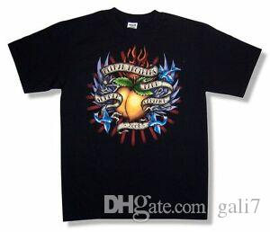 Allman Brothers Band Tattoo Logo Verano 2008 Tour BlaDesign T Shirt Nuevo oficial