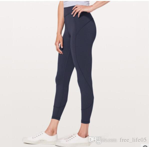 80b92c3d8d2c98 2019 Leggings Sport Brand Fitness Patchwork Full Length Plus Size Lemon  Running Pants Tights Gym Yoga Pants Women Elastic From Free_life05, $15.08  | DHgate.