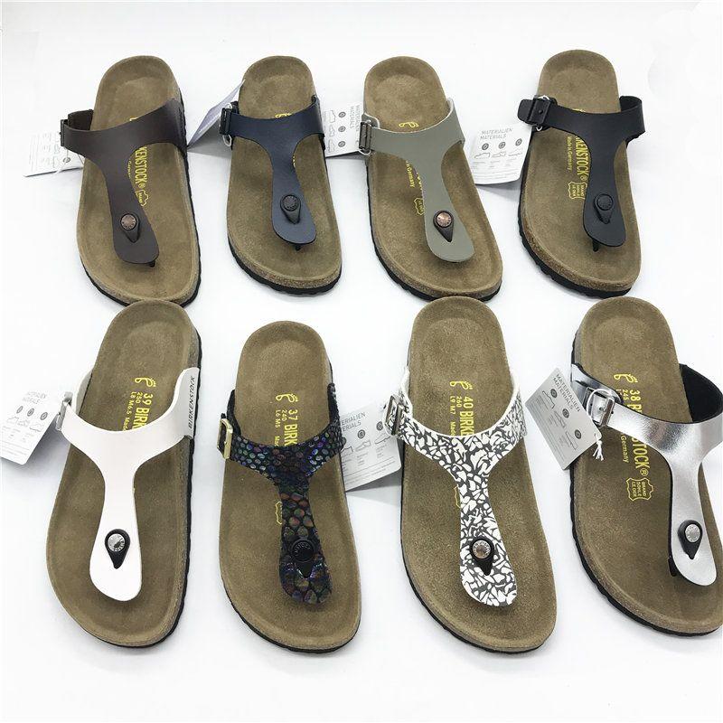b400dcaff38 Designer Shoes Women Men Designer Sandals Soft Footbed Gizeh Thong Sandal  Mermaid Black White Brown Slippers Cork Healthy Footcate Flip Flop Boys  Size 6 ...