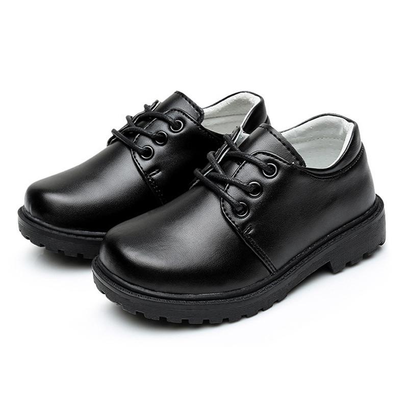 a6315862 Compre Zapatos De Niño Zapatos De Cuero Para Niños Genuino Para Niños  Escolares Niños De 2 A 7 Años Yesrs Niño Niño Little Black, Zapatos De  Rendimiento ...
